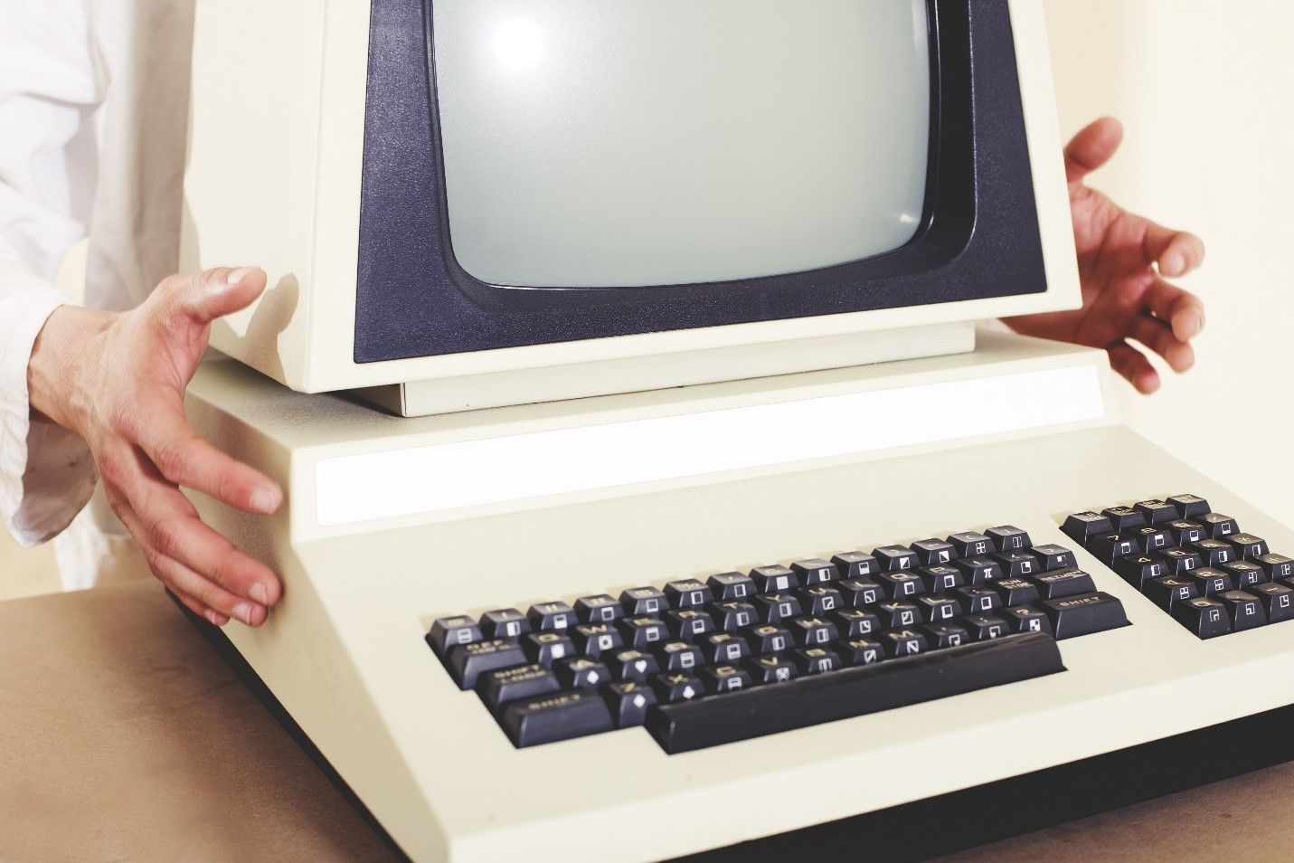 Retro Computer Used in Old Labs
